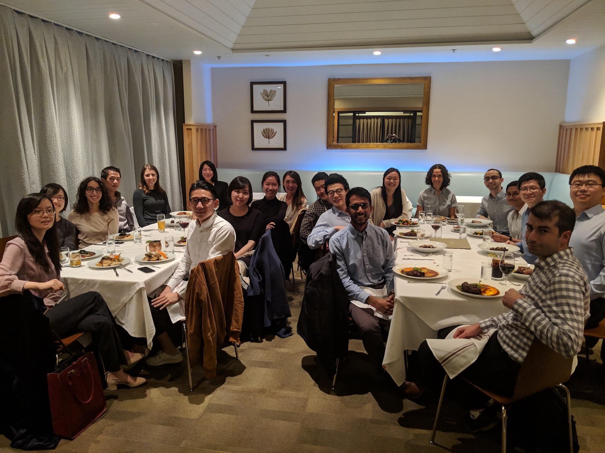 At the APS-DFD meeting in Atlanta, GA (November 2018)