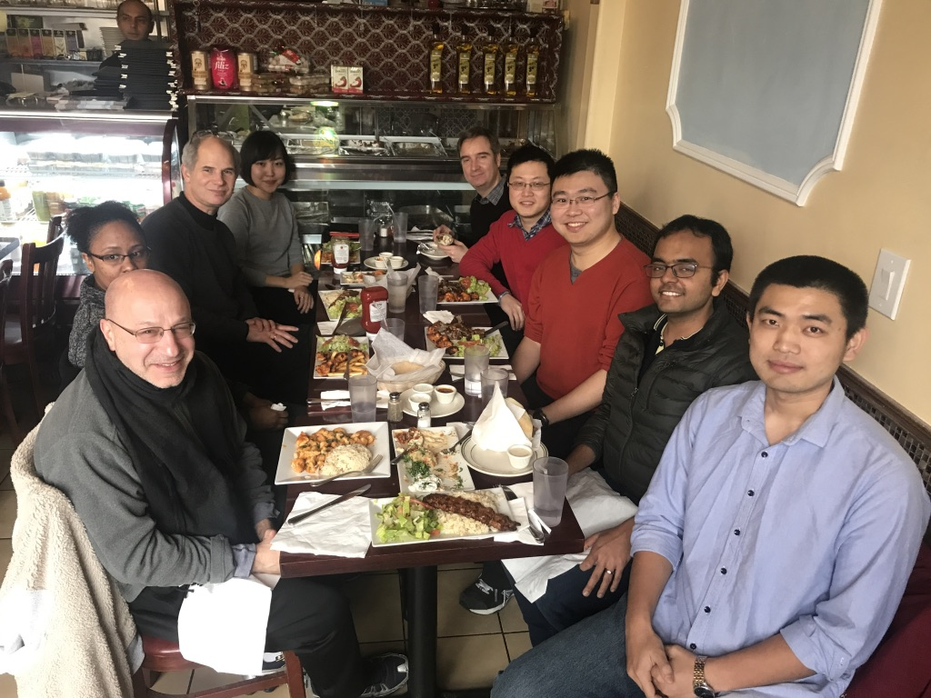 Holiday lunch (December 2017)